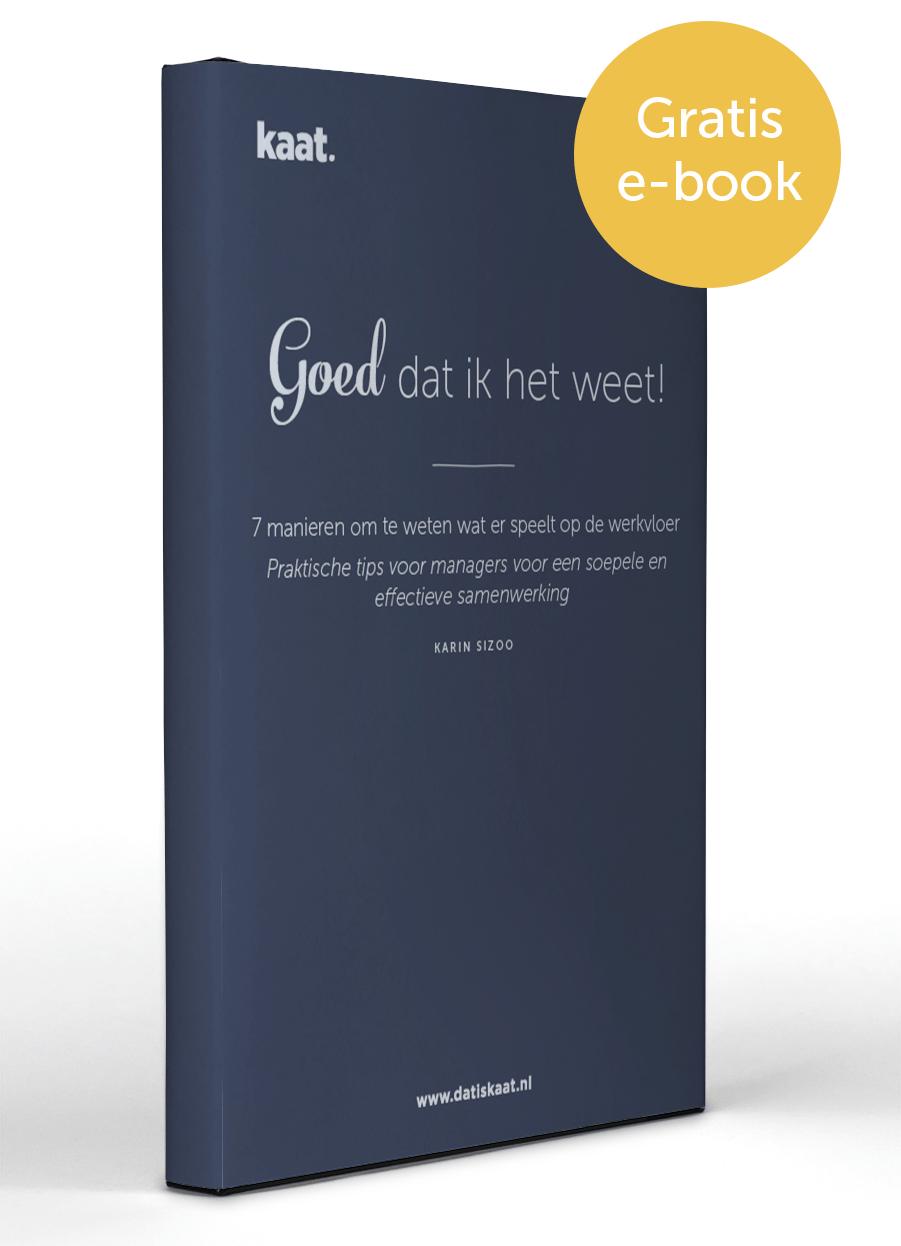 E-book Goed dat ik het weet