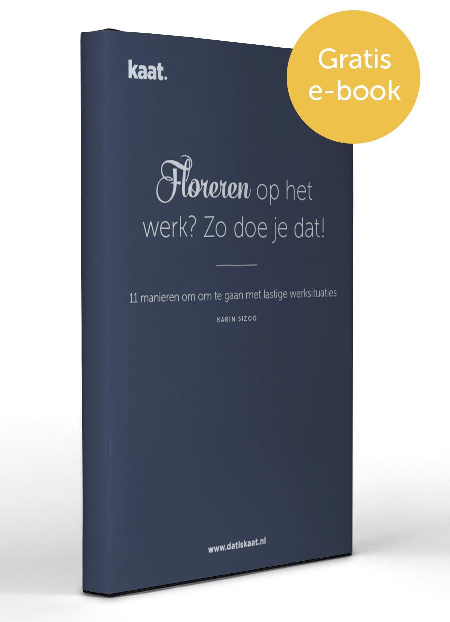 Ebook mockup Floreren